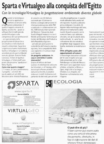 2007 Il Messaggero Veneto, Egitto.