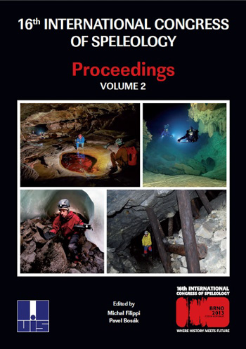 2013 Atti 16th International Congress of Speleology, Brno, Vol.2. | PDF