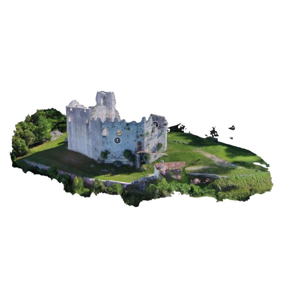 Castle of Toppo, Travesio (PN), Italy #3. | Modello 3D