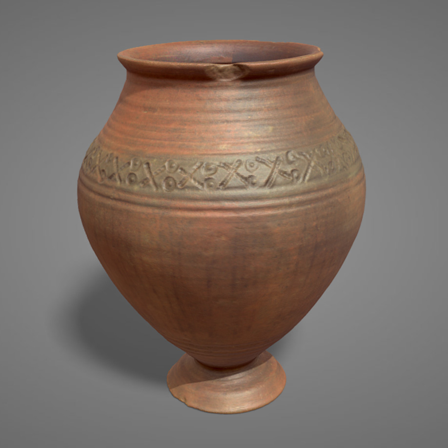 Vaso in terracotta | ceramic pot. | Modello 3D