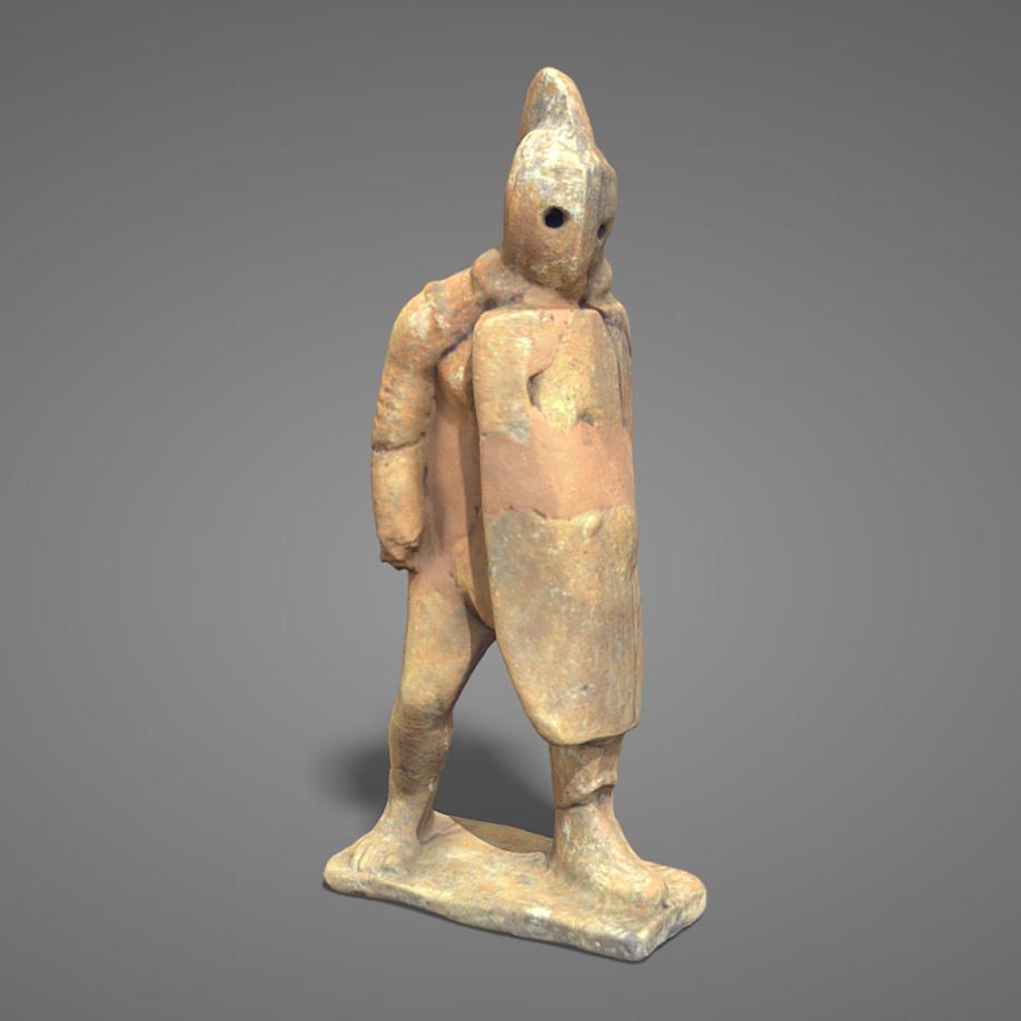 Gladiatore in terracotta | terracotta gladiator. | Modello 3D
