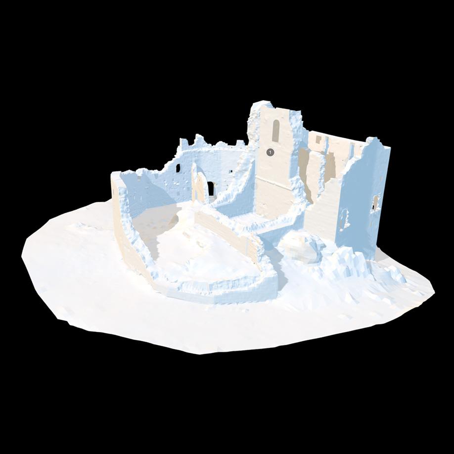 Castle of Toppo, Travesio (PN), Italy #2. | Modello 3D