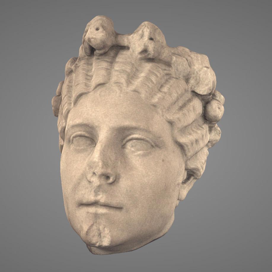 Ritratto Femminile con Corona-Female Portrait. | Modello 3D
