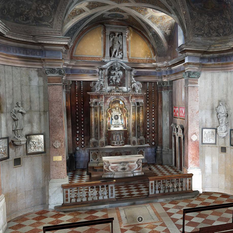 Santuario della Madonna dell'Angelo, Caorle. | Modello 3D