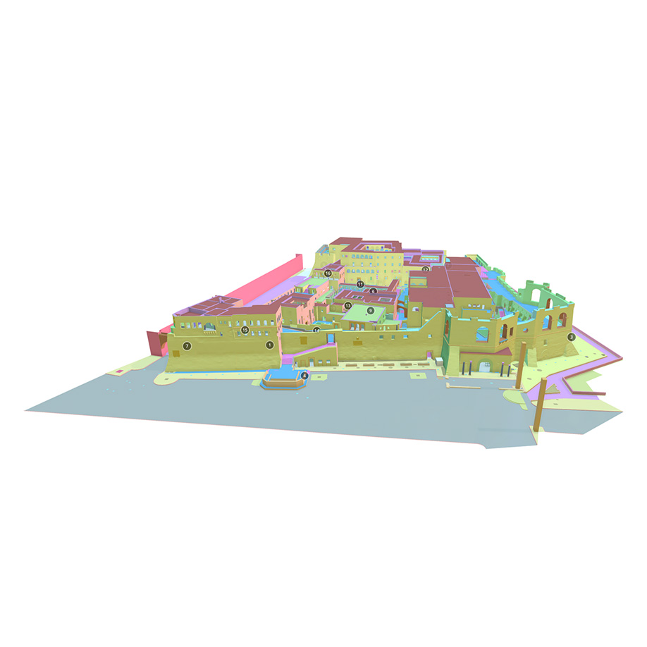 Red Castle, Tripoli, Libya. | Modello 3D