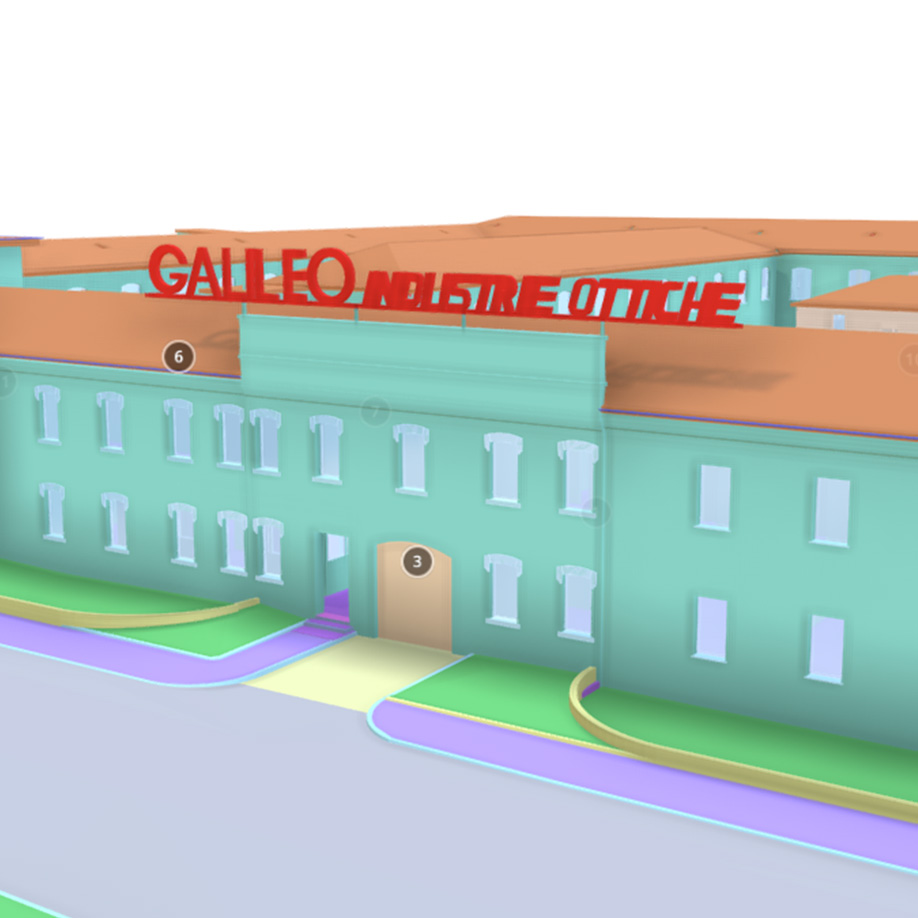 Ex Officine Gallileo, Marghera, italy. | Modello 3D