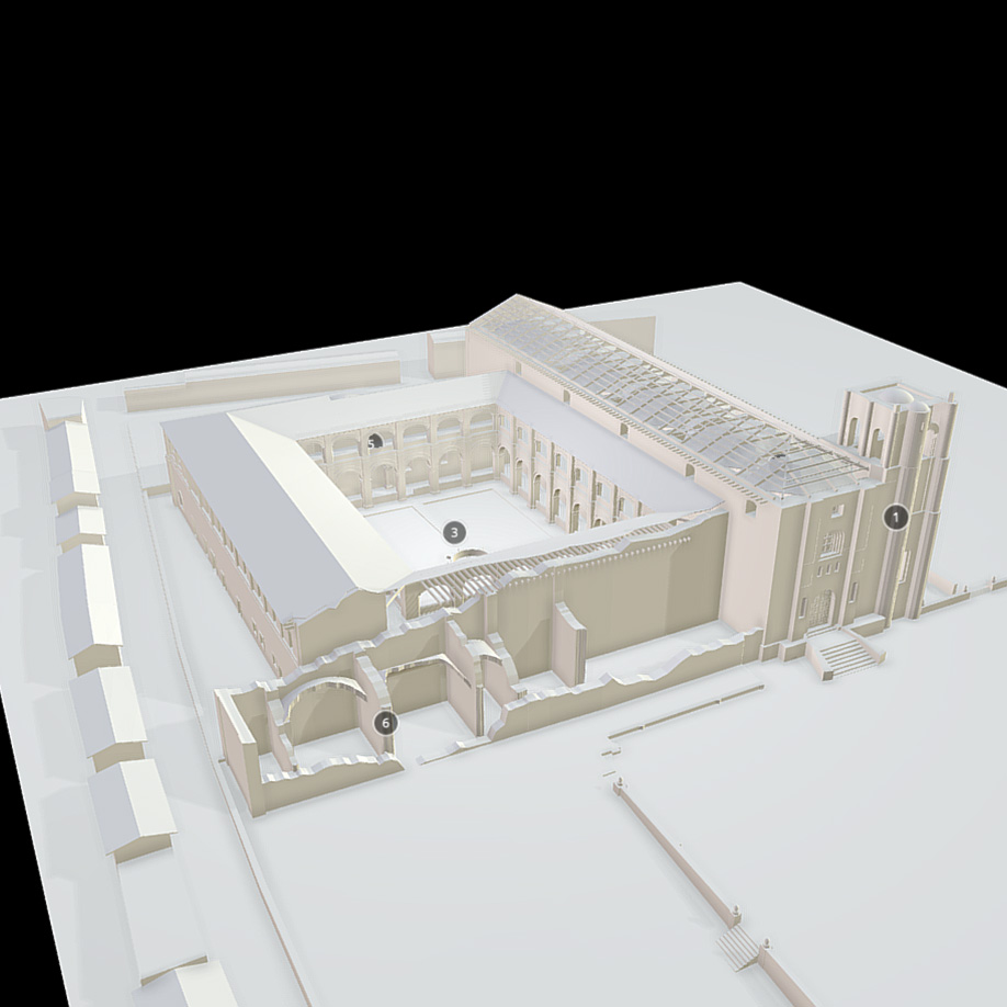 Ex Convent of St. Domingo, Tecpatan, Mexico. | Modello 3D