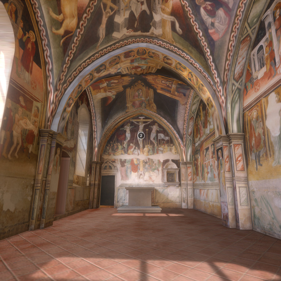 St. Lorenzo and Marco's Chapel, Italy. | Modello 3D