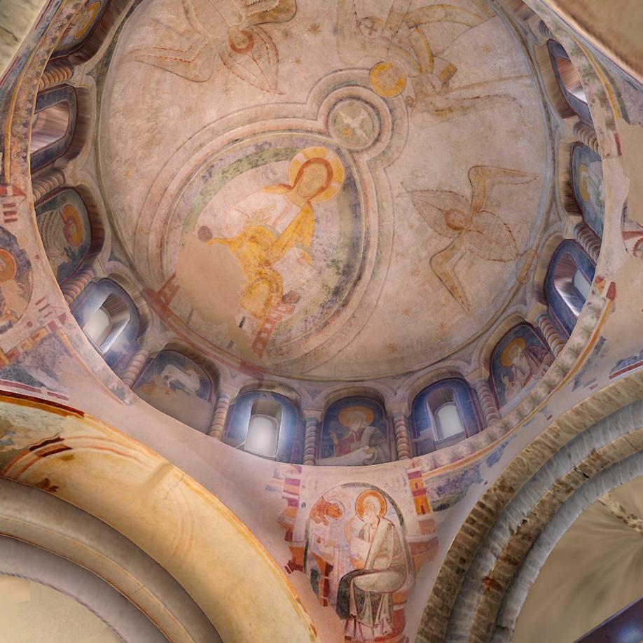 Textured Model, Baptistery Concordia Sagittaria, Italy. | Modello 3D