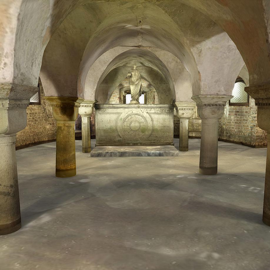 Cripta 2. | Modello 3D