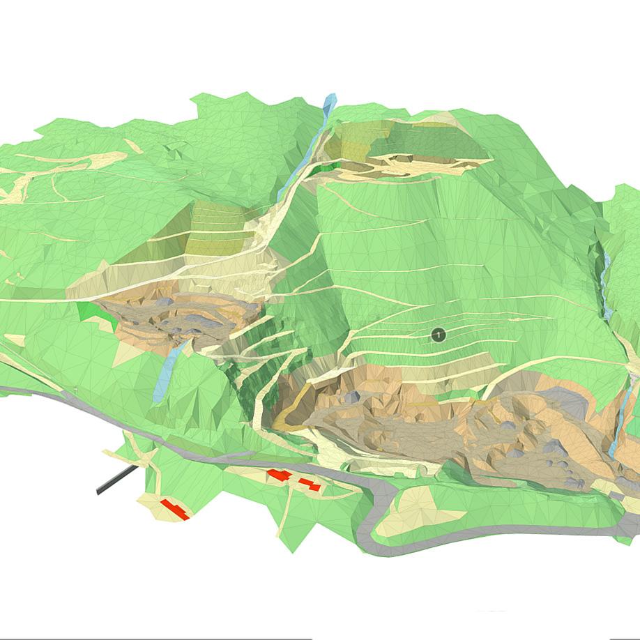 Quarry. | Modello 3D