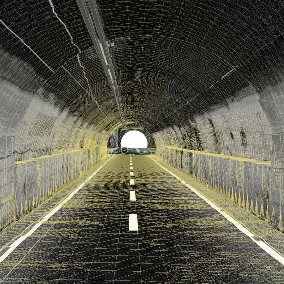 Tunnel. | Modello 3D