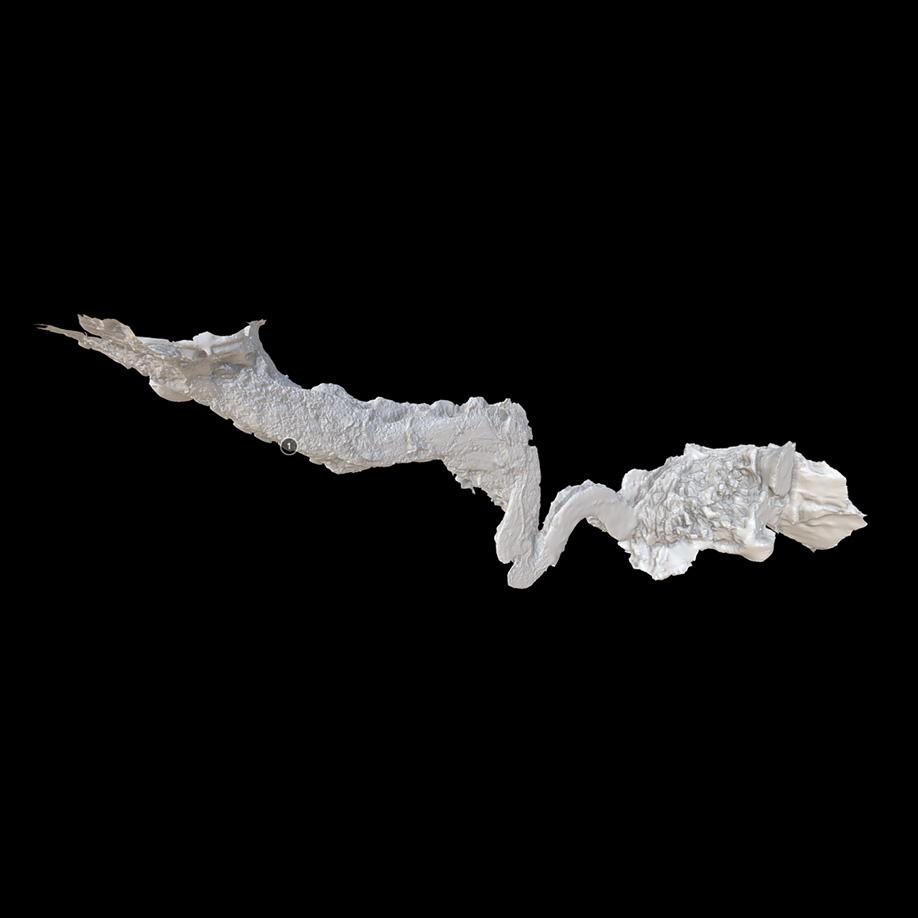 Re Tiberio Cave, Riolo Terme, Italy. | Modello 3D
